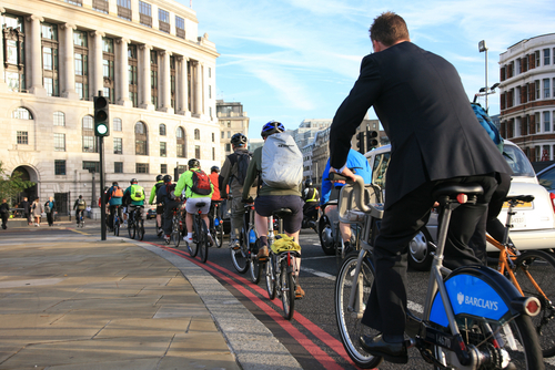 London-cyclists