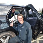 James Cracknell car seat