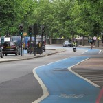 Needs accrediting London cycle superhighway