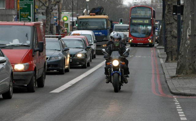 London motorcycle