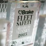 Brake fleet safety award