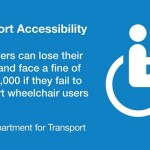 Wheelchair taxi users