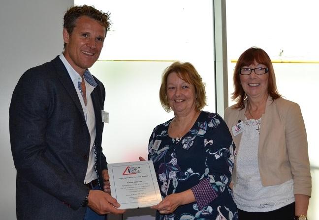 Elaine Beckett LRSC award