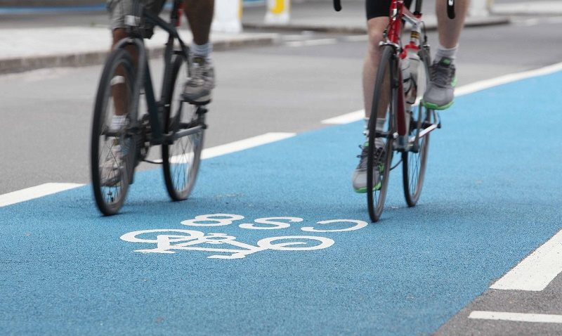 TFL cycle superhighway