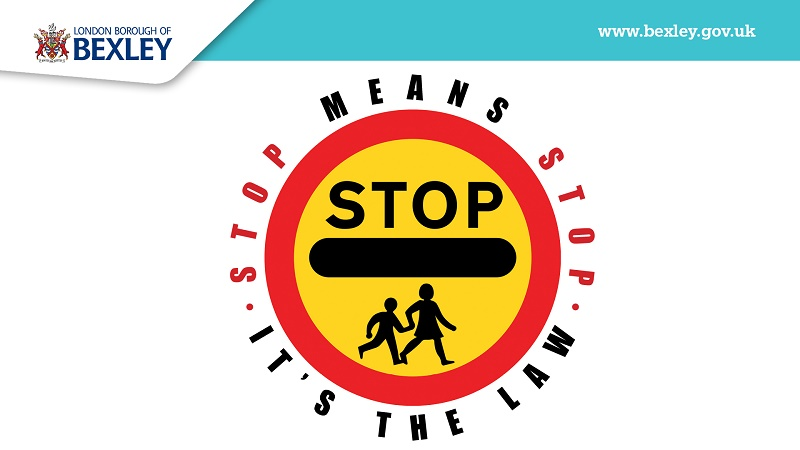 Bexley stop means stop logo