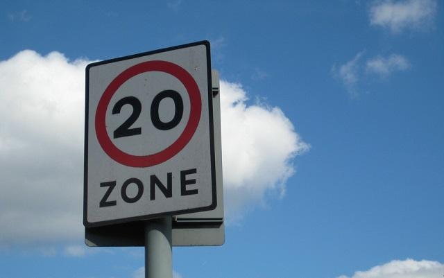 20mph zone pic