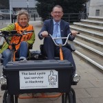 Hackney cycle taxi MP