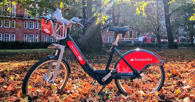 Santander cycles next gen