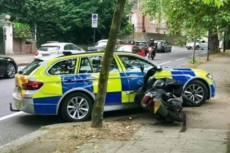2WL met police moped home LRSC