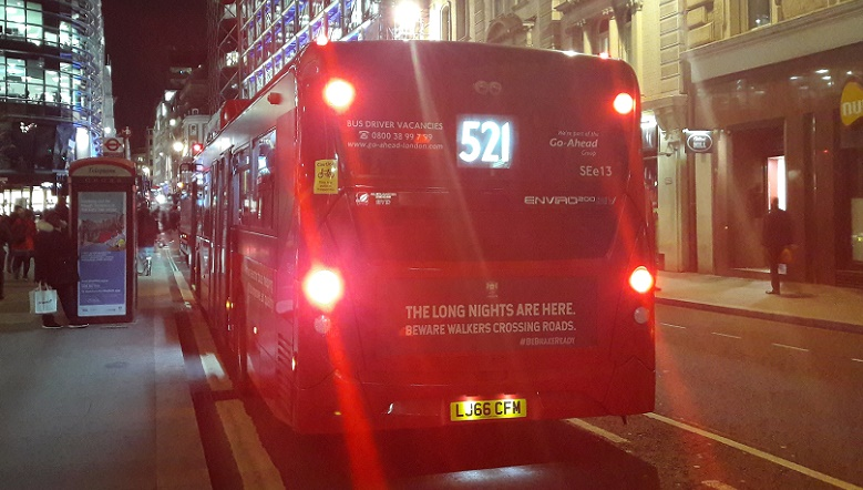 City of London bus campaign 2
