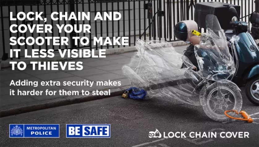 Met Police motorcycle campaign