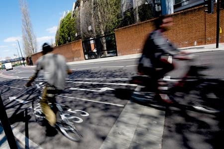 Cycle lane London Assembly LRSC home