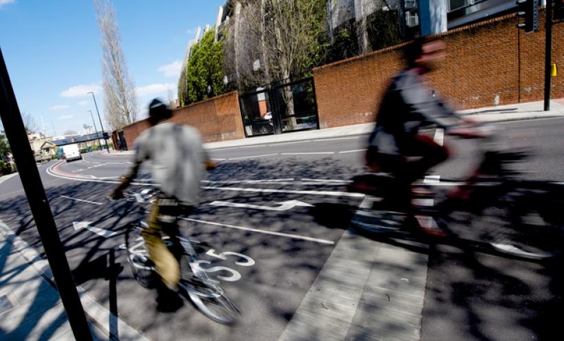 Cycle lane London Assembly