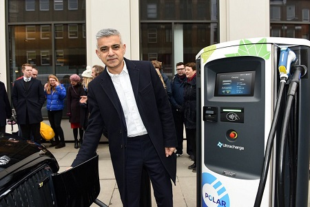 TfL charging points home