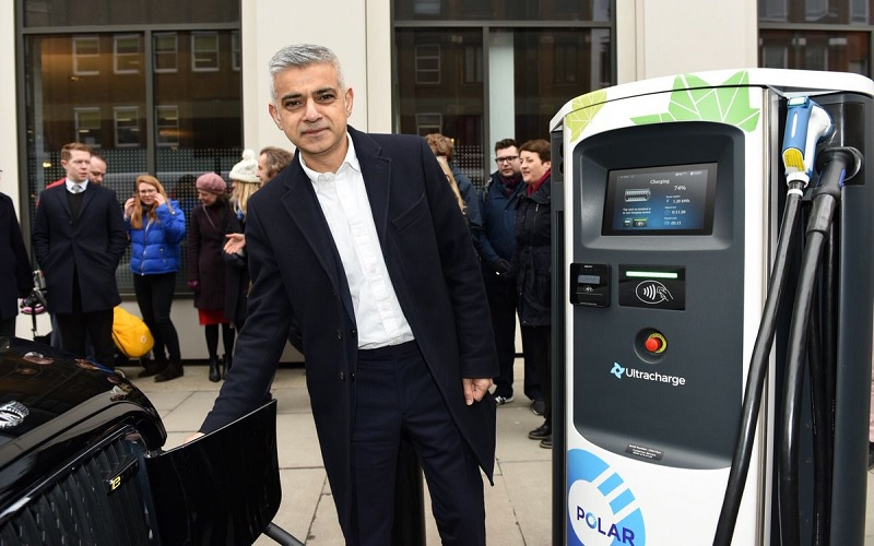 TfL charging points