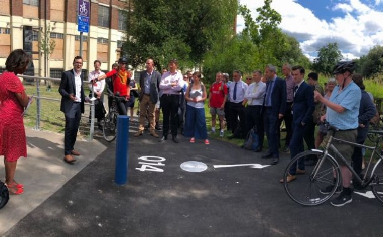 LRSC Thames Path opening