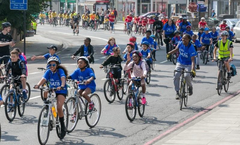 Hackney bike around the borough 2018