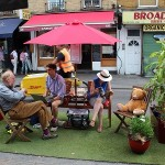 Hackney parklet LRSC home