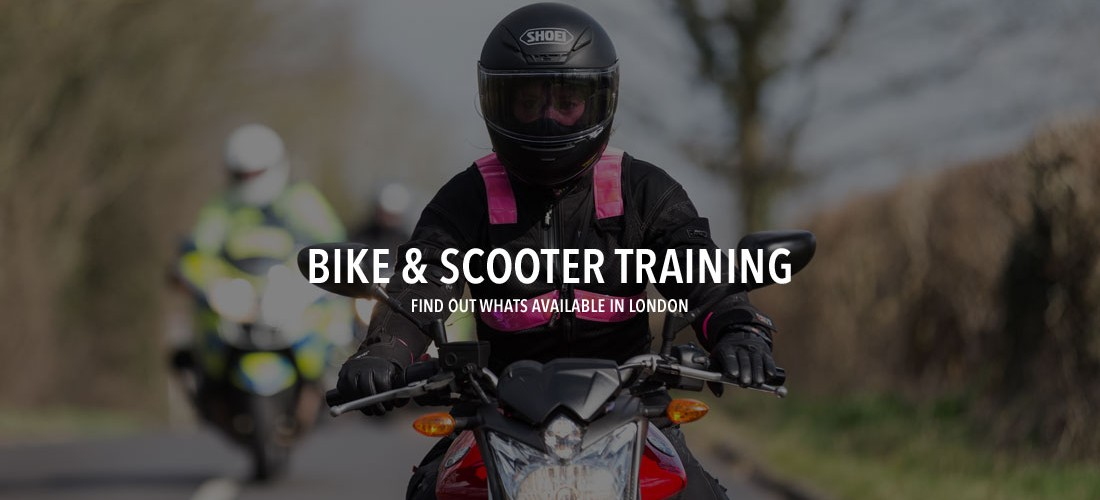 Motorbike and scooter training on London