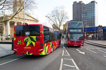 TfL bus standard home