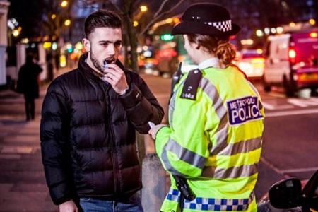 Met Police drug driving LRSC home
