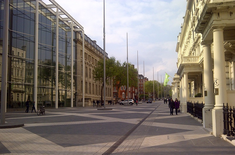 LRSC Exhibition Road shared space