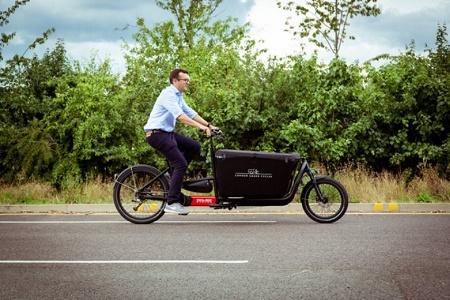 LRSC cargo bike home