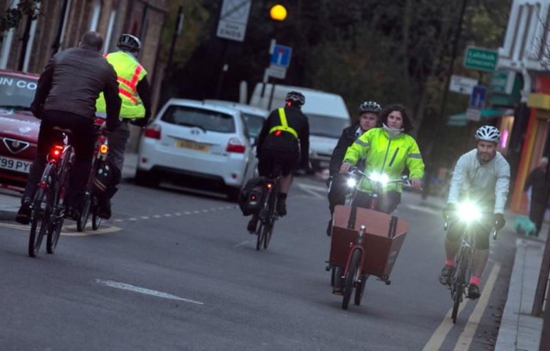 LRSC Hackney winter cycling