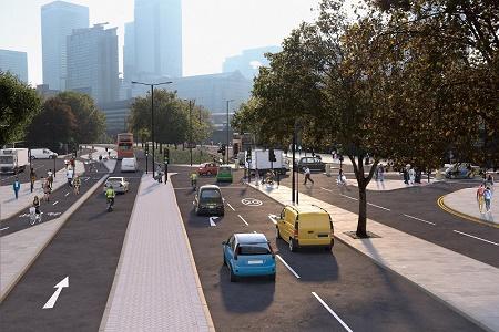 LRSC east london cycleway home