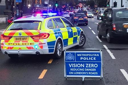 LRSC Met Police roads home