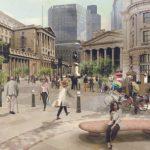 An artist's impression of Bank Junction