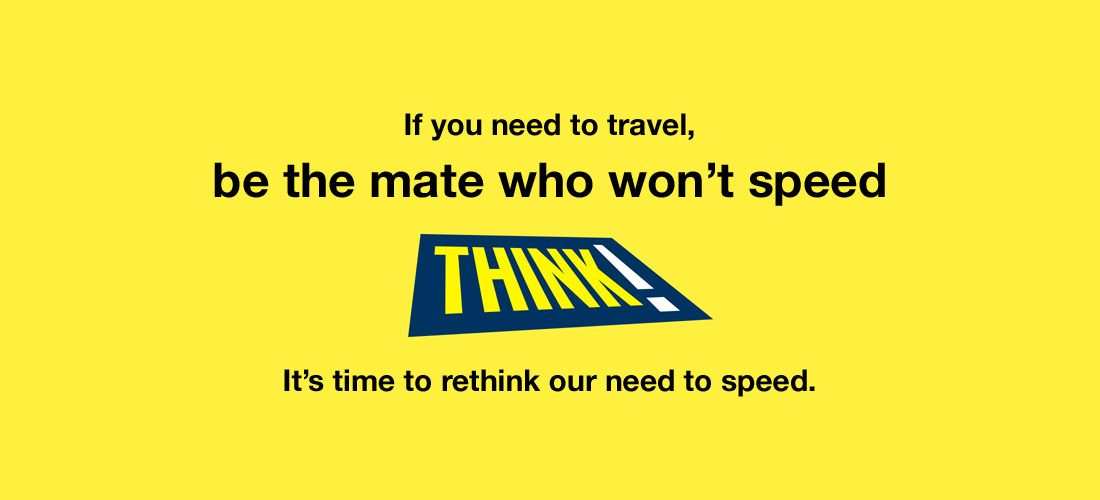 Be the mate who wont speed